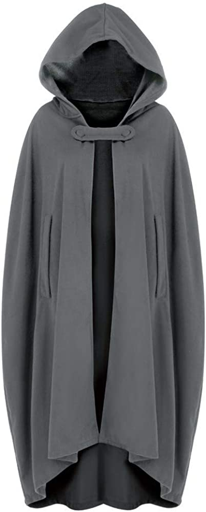 Women Trench Suit Coat Open Front Cardigan Jacket Suit Coat Cape Cloak Poncho Plus