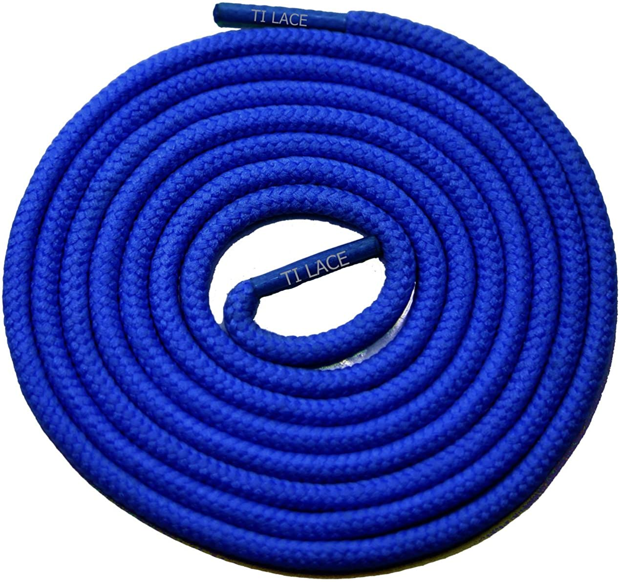 54 Royal Blue 3/16 Round Thick Shoelace For All Womens Dress Shoes