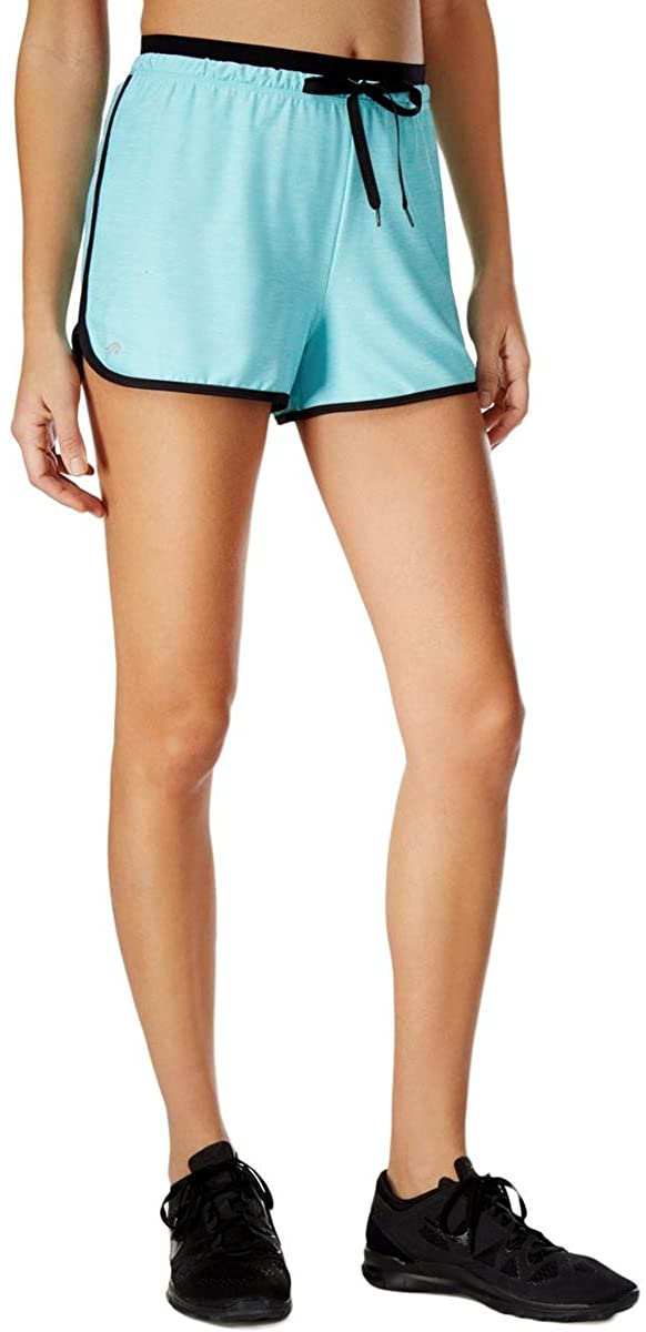 Ideology Womens Rapidry Athletic Workout Shorts