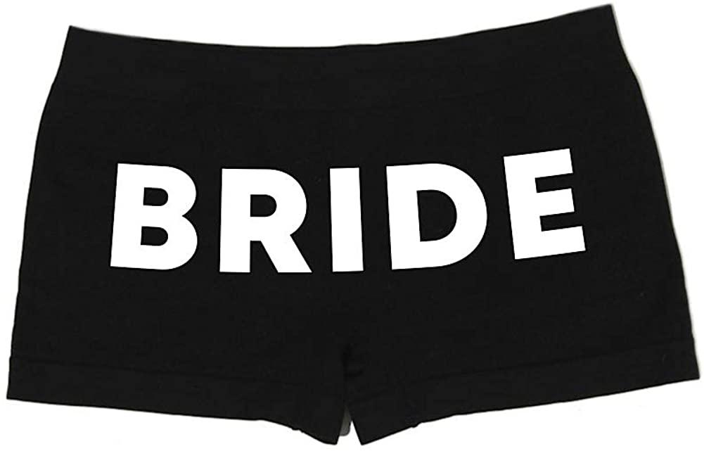 Make Me Laugh Women's Bride Boy Shorts