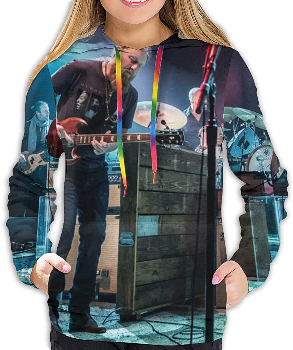 8rwwpJgr Tedeschi Trucks Band Woman Women Casual Hooded Pullover Hoodies 3D Printed Athletic Pullover Sweatshirt with Pockets