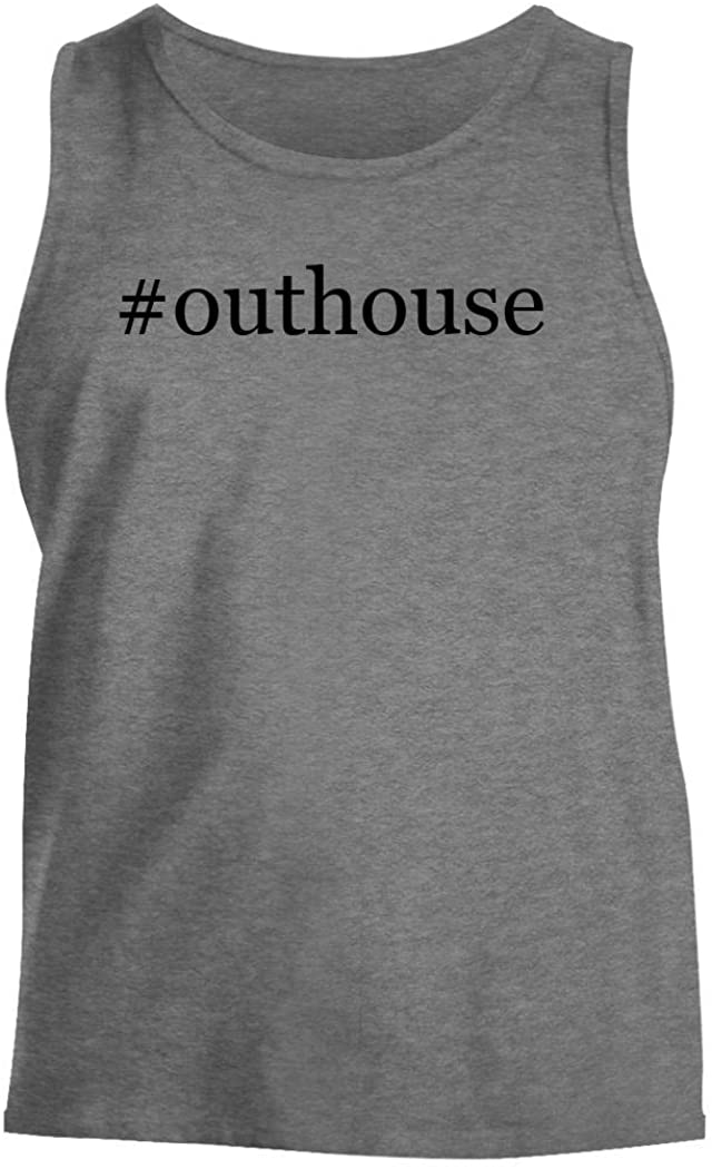 Harding Industries #Outhouse - Men's Hashtag Comfortable Tank Top