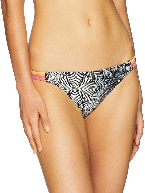 Roxy Womens Pop Surf Moderate Bikini Swimsuit Bottom