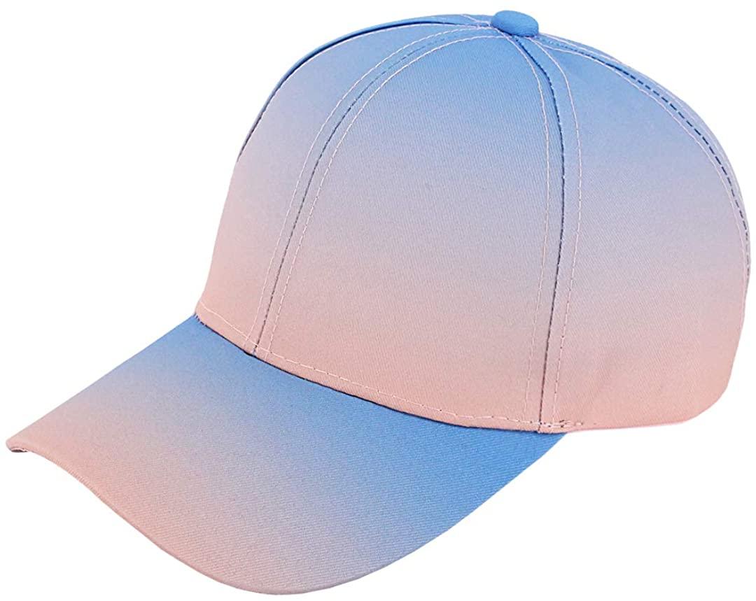 Naimo Unisex Low Profile Tie Dye Baseball Cap Sun Protection Visor