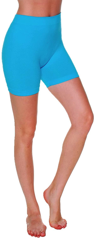 Emmalise Women's 12 in Stretchy Layering Short Seamless Legging Bottom