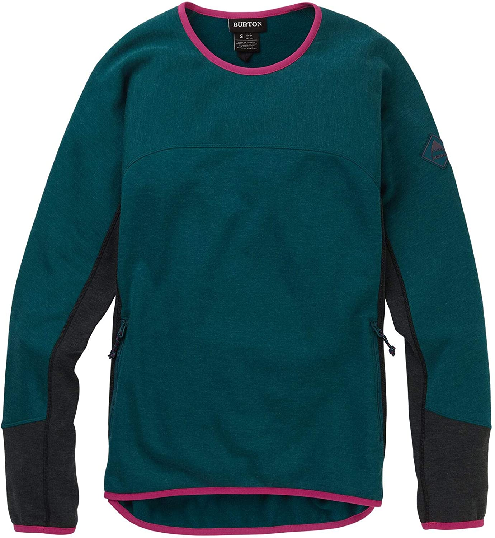 Burton Womens Minturn Crew Neck Sweatshirt