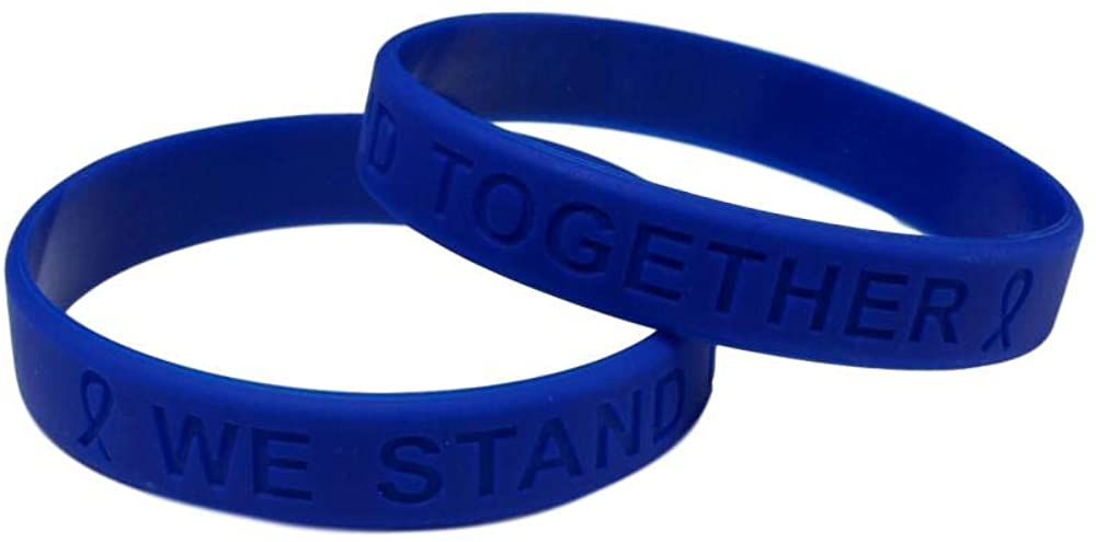 Healthcare and First Responder Awareness Silicone Bracelet 25 Pack