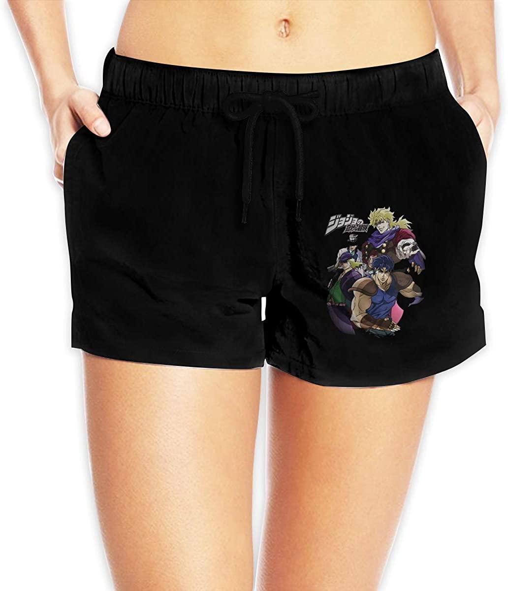 Women Sexy Hot Pants Summer Casual Shorts JoJos Bizarre Adventure Short Beach Trousers
