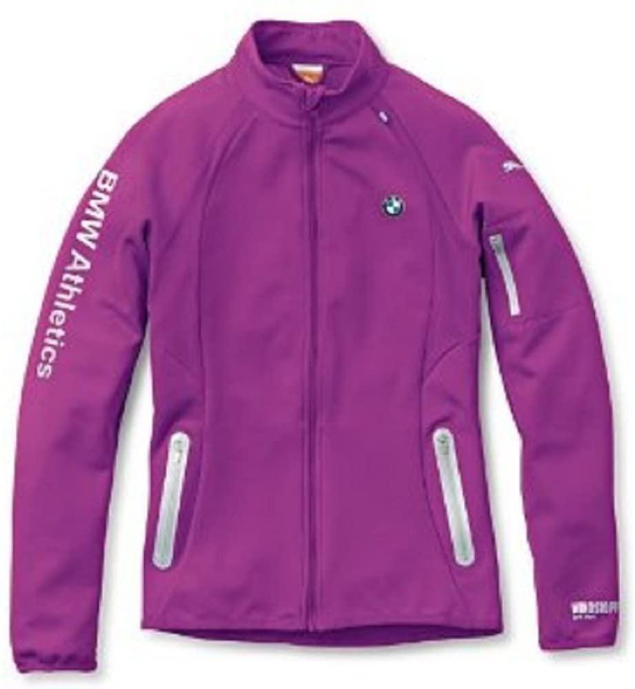 Genuine BMW Athletics Women's PUMA Soft Shell Jacket - Berry - Size Extra Large