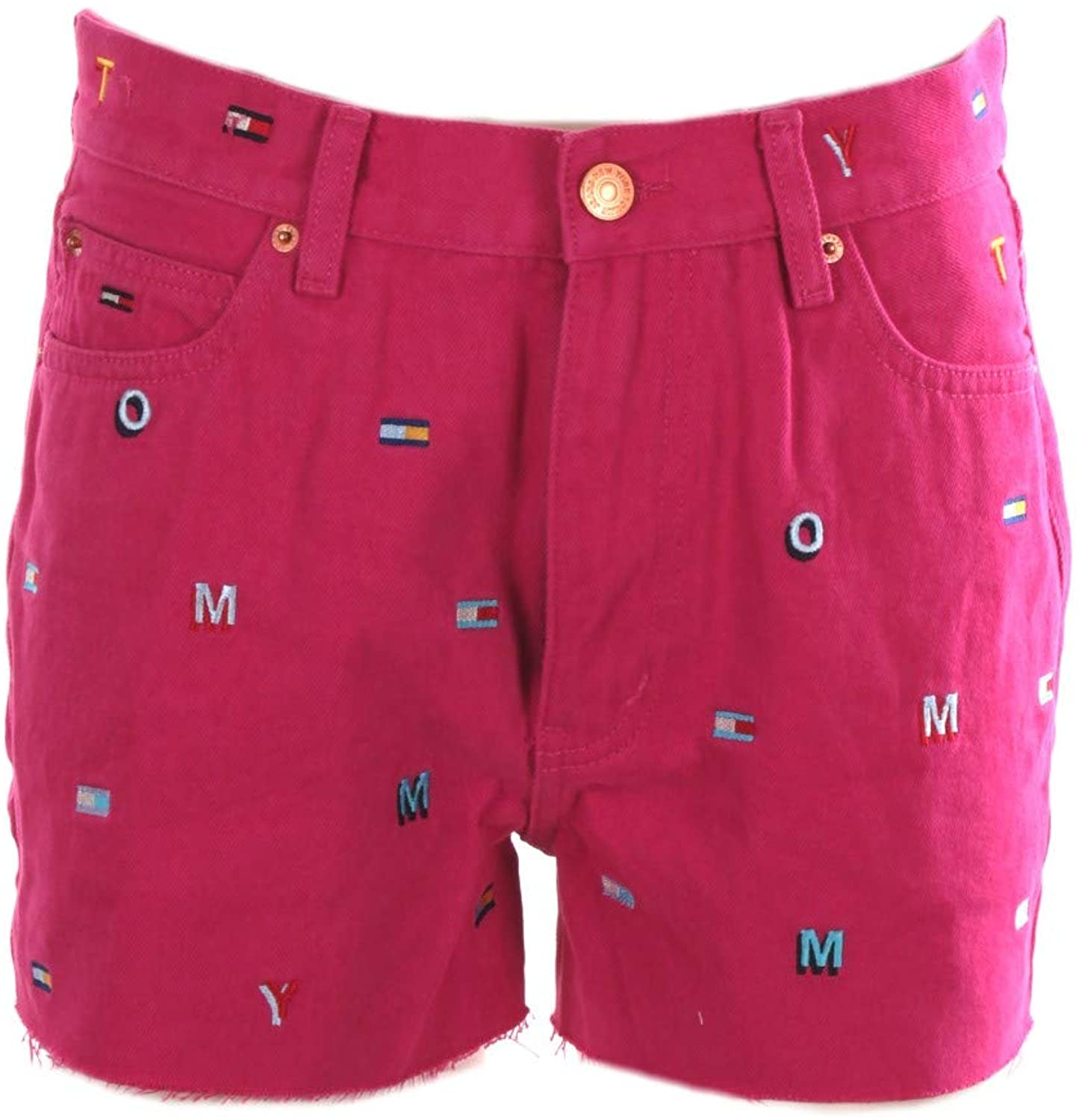 Tommy Jeans - Shorts Woman Pink High Waist Shorts