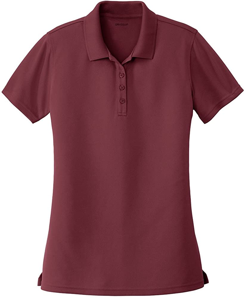 DRIEQUIP Ladies Moisture Wicking Dry Zone Polo in Sizes XS-4XL