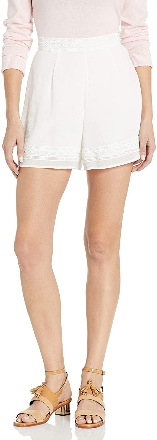 findersKEEPERS Women's Maison Texutred lace Short