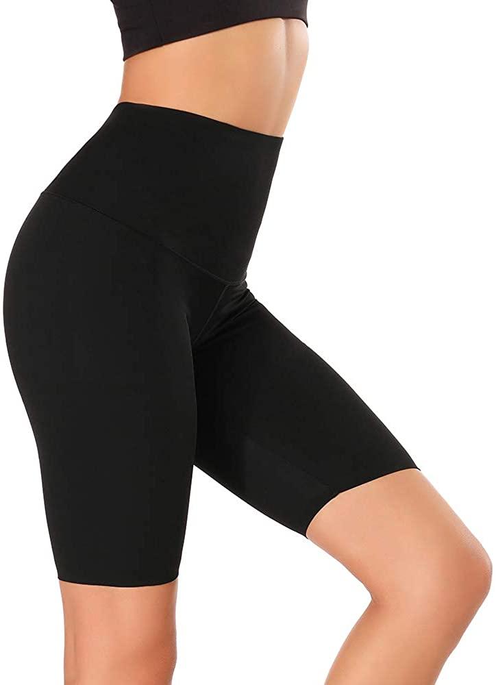 WOWENY High Waist Biker Shorts for Women Workout Cycling Shorts Seamless Yoga Running Pants