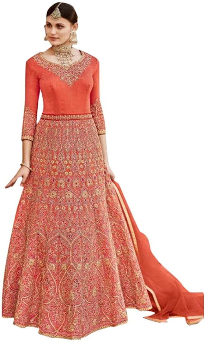 Designer Bollywood Collection Anarkali Salwar Suit Custom to Measure festive party wear Ceremony Festival Muslim 2792 6