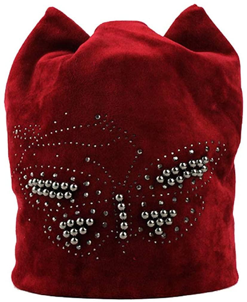 TokLask Female Beanie Bonnet Autumn and Winter Caps Hip-hop Hats Women Skullies