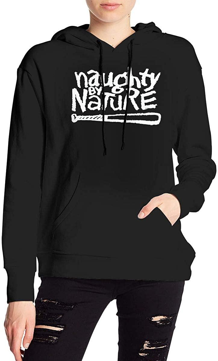Naughty by Nature Women's Fashion Ultra Soft Fleece Casual Pullover Hoodie Sweatshirt