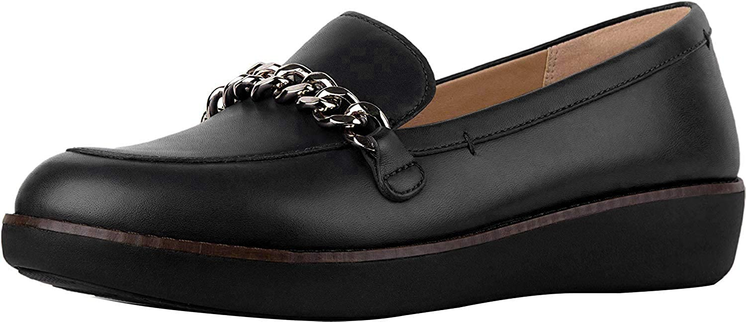 FitFlop Women's Paige Chain Loafer Flat