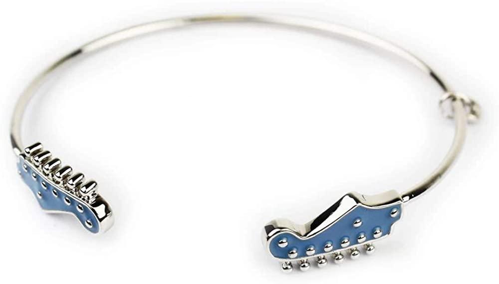 International Jewelry Designs Sonic Blue Fender Jaguar Guitar Bracelet