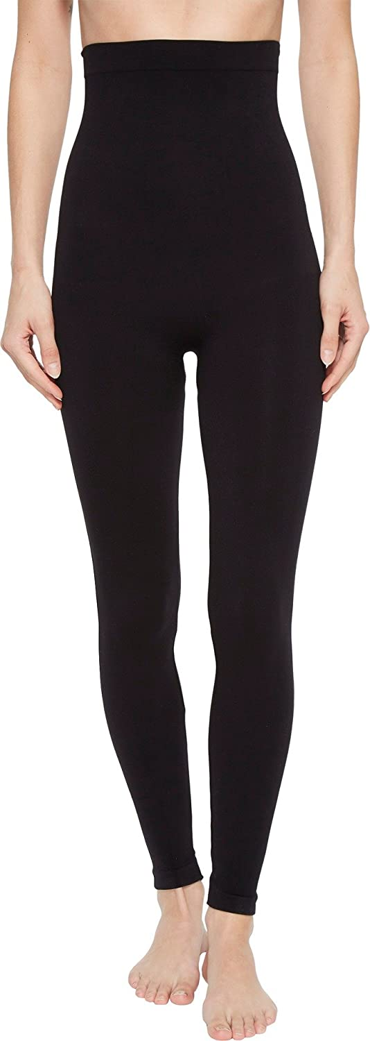 SPANX Look at Me Now High-Waisted Seamless Leggings Very Black SM