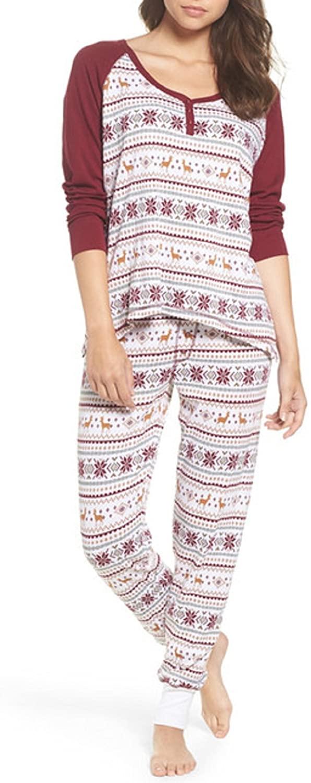 PJ Salvage Pajama Thermal Set - Medium Ivory