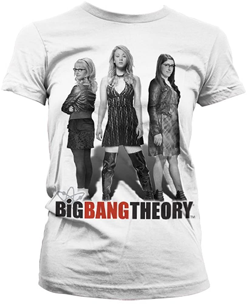 Officially Licensed Merchandise Big Bang Theory - Girl Power Women T-Shirt