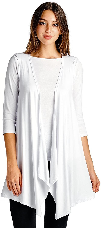 Modern Kiwi Open Asymmetrical Hem Vest