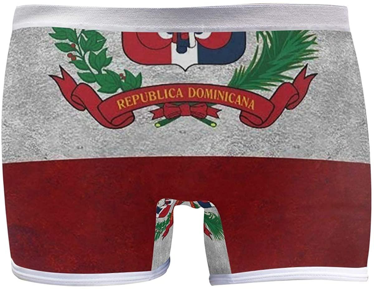 SLHFPX Coat of Arms Dominican Republic Boyshort Panties Womens Long Leg Underwear Briefs Boy Shorts