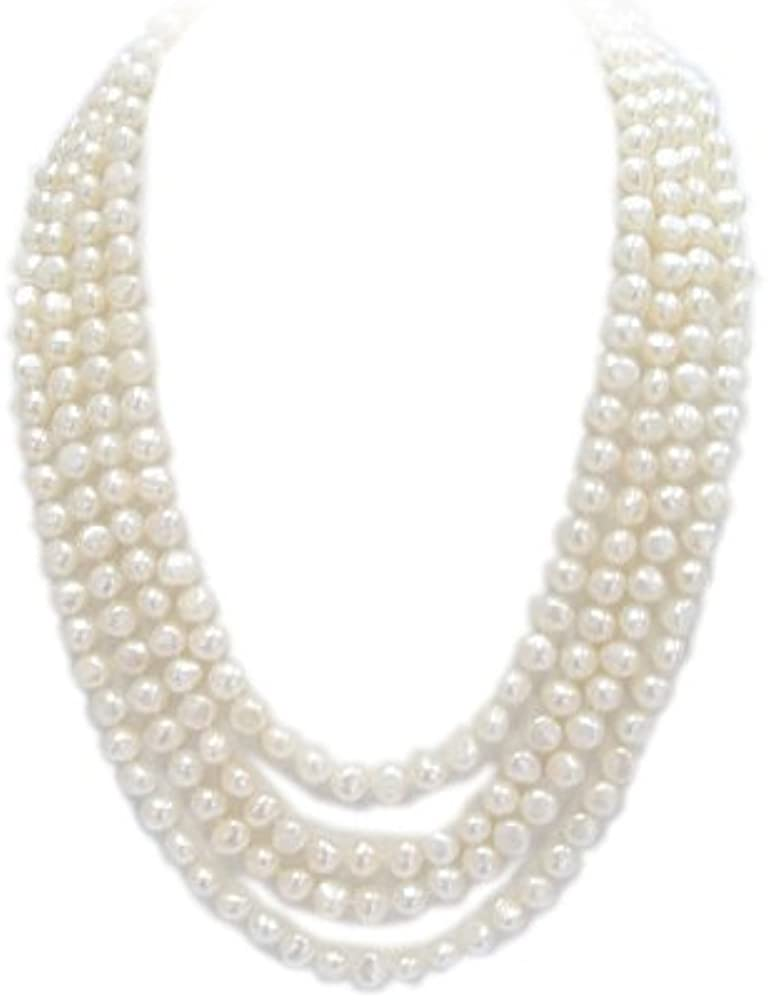 Studs Galore Freshwater Cultured Cultured Pearl Necklace