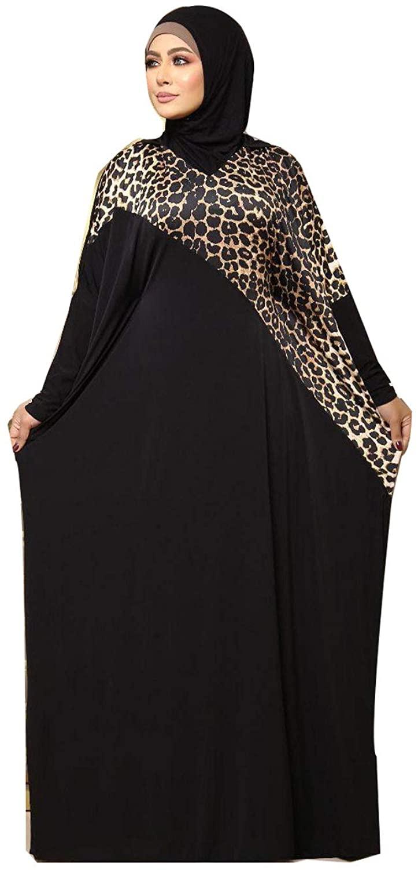 Isdal Islamic Muslim Floral Galabeya Kaftan Gilbab Prayer Robe Abaya Hijab Gilbab Prayers Izdal Attire Dress 20v
