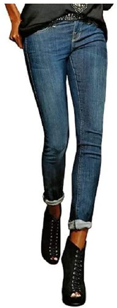 Rock & Republic Berlin Embellished Skinny Jeans - Women's