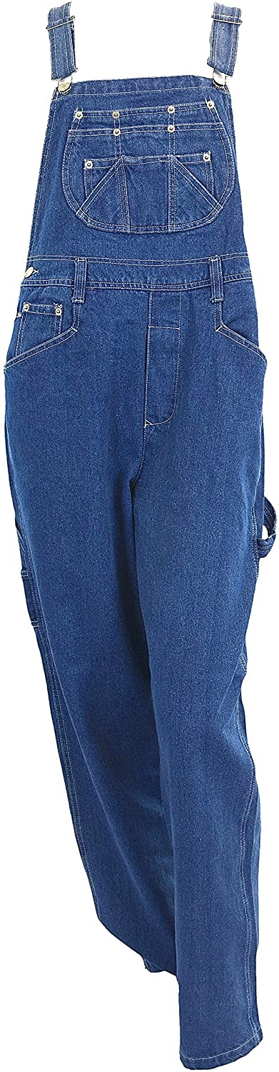 Eagle Blue Jeans Women's Denim bib Overalls XS- XXL