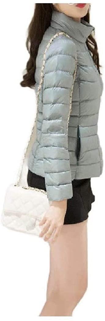 Losait Womens Packable Short Coats Mighty Lite Plus-Size Down Jacket