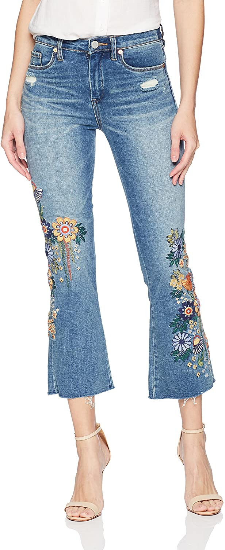 [BLANKNYC] Women's Hi Rise Kick Flare Pants