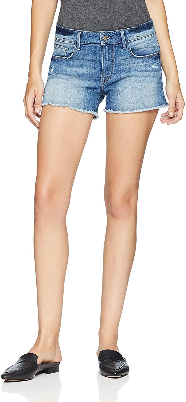 Madison Denim Women's Bailey Mid Rise Jean Short-SKYLIGHT-24