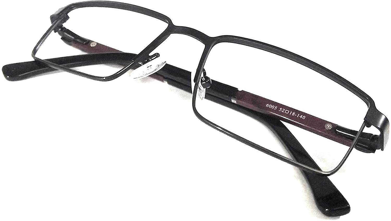 Amar lifestyle Eye frame metal rectangular 52 mm black unisex_alacfrpr5117