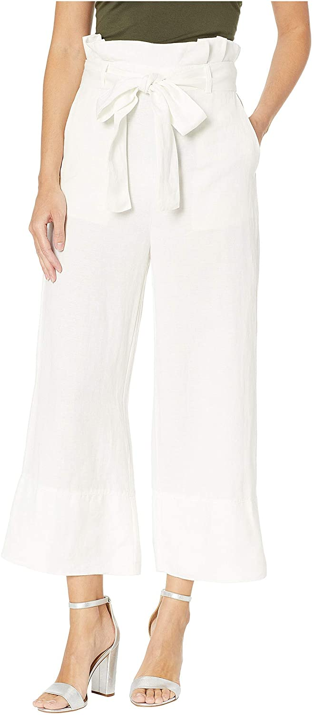 Blank NYC Women's Linen Belted Pants in Alpine