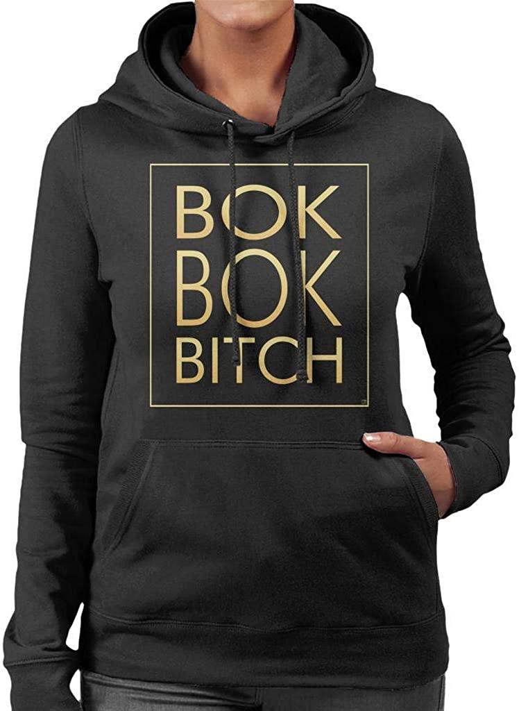 YBSJDQ Bok Bok Bitch Crazy Rich Asians Womens Hooded Sweatshirt