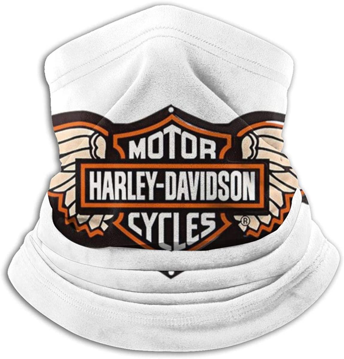Microfiber Tube HAR-LEY DAVID-SON Neck Warmer Face Mask Shield Protective Bandana Headband & Beanie