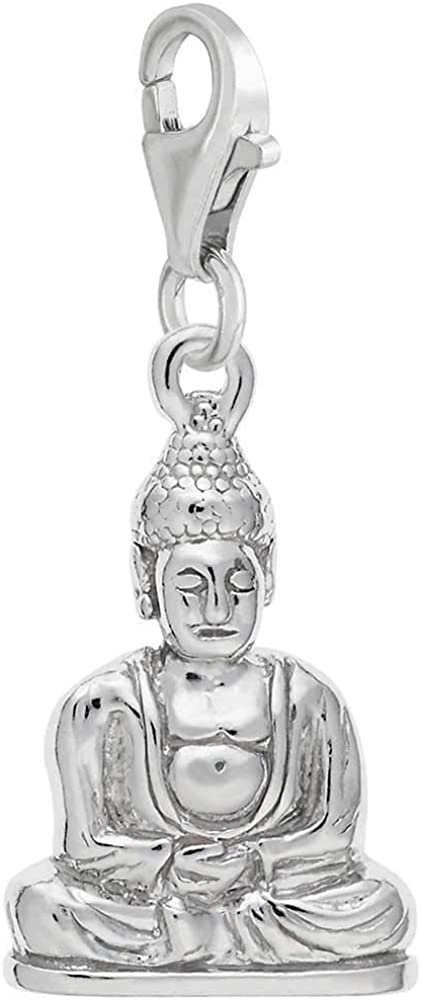 Rembrandt Charms Buddha Charm with Lobster Clasp