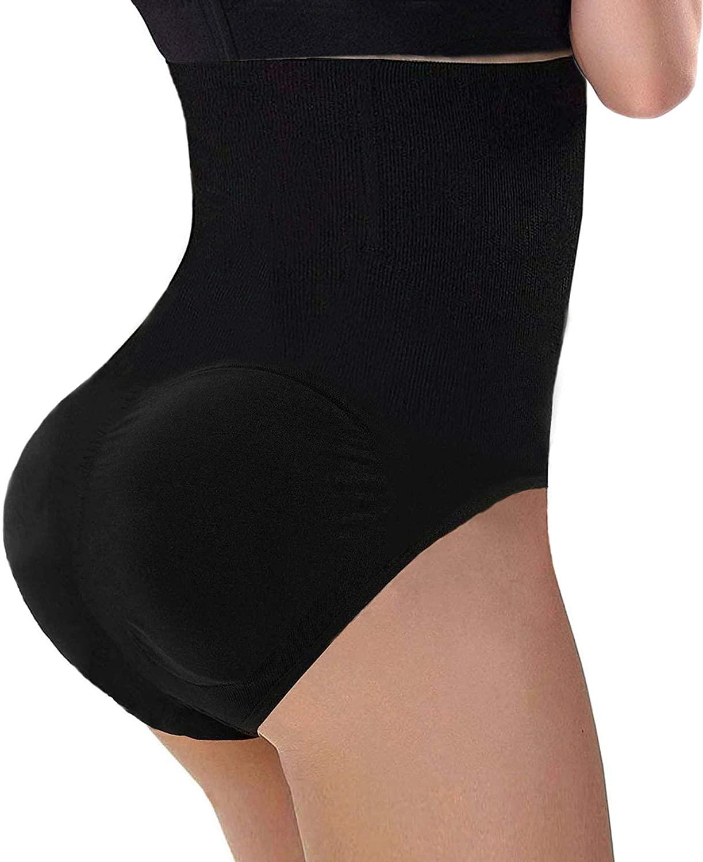CeesyJuly Womens Padded Fake Buttock Butt Lifter Tummy Control Shapewear Underwear Panties