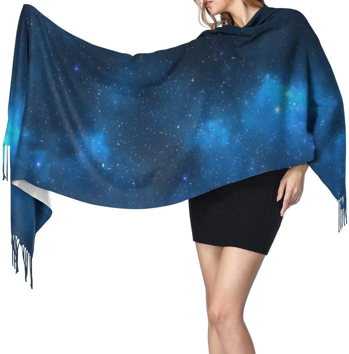 NOT Starry Sky Fashion Long Large Soft Cashmere Shawl Wrap Imitation Cashmere