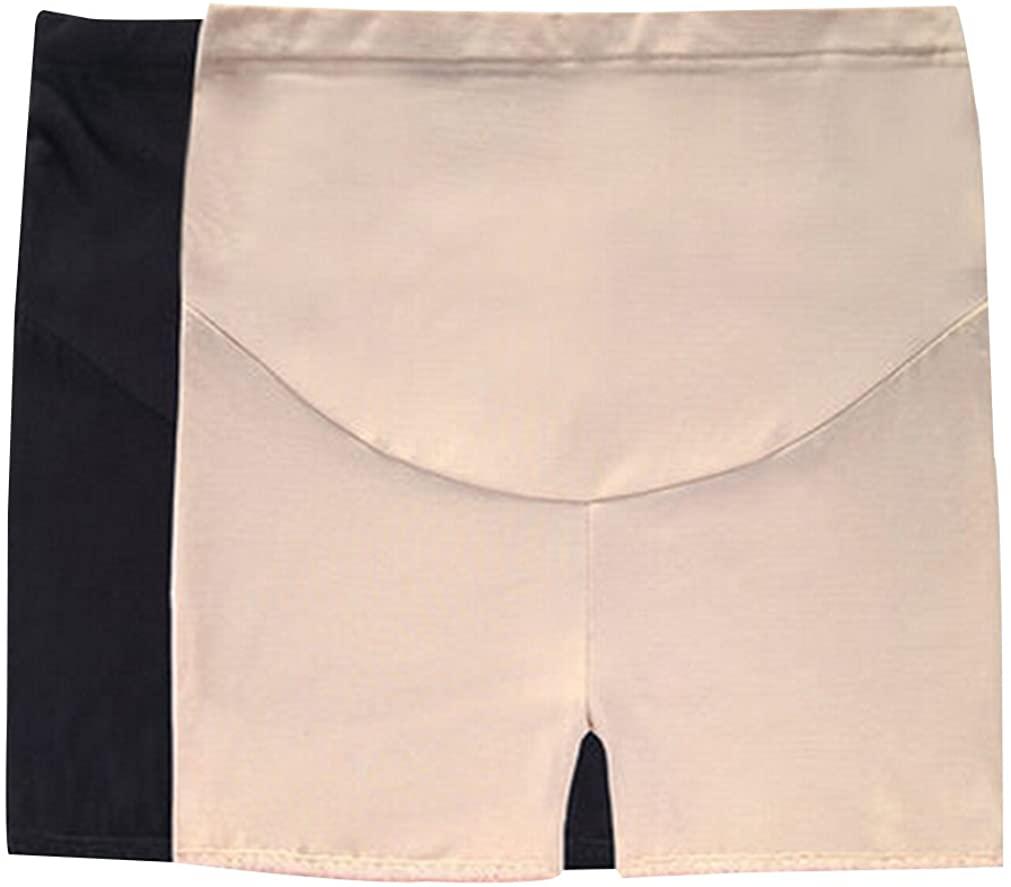 GIFTPOCKET Womens 2 Pcs Maternity Shapewear Pettipant Boy Shorts Underwear