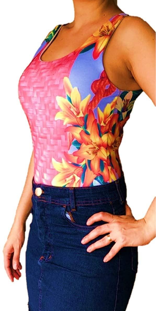 Bella Bodysuits Women's U-Collar Sleeveless Backless Bodysuit Summer 2020 Collection