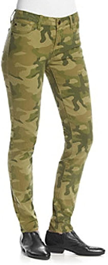 Celebrity Pink Juniors' Camo-Print Skinny Jeans, Size 1/25