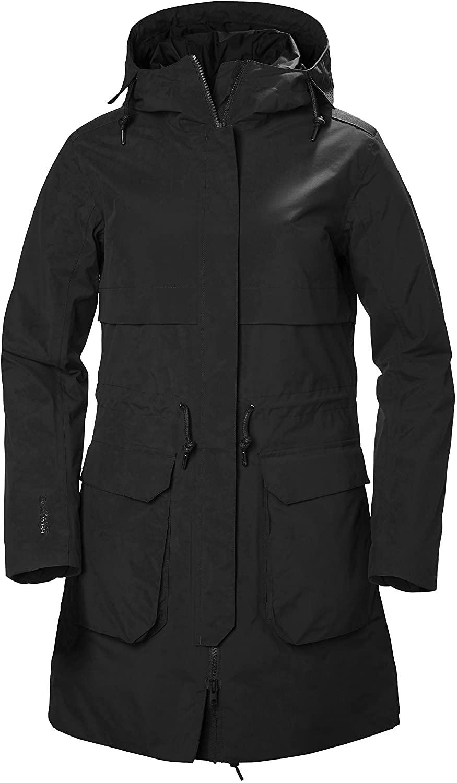 Helly-Hansen Womens Boyne Waterproof Windproof Breathable Parka Jacket