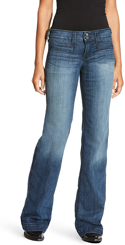 ARIAT Women's Trouser Jean, Bonnie Stitch (29 L)