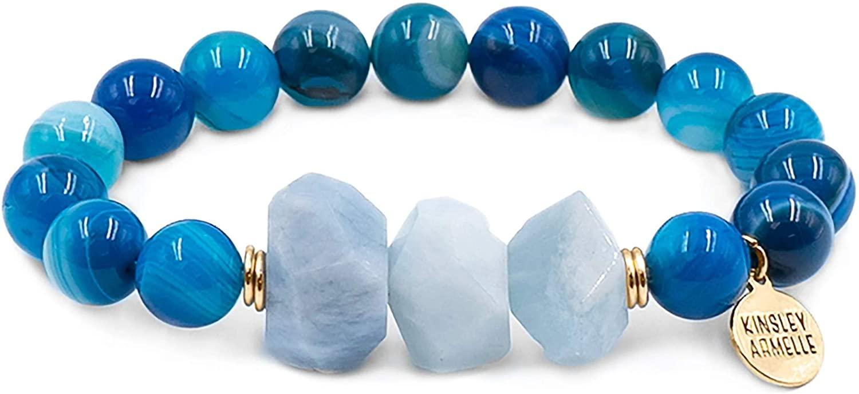 Kinsley Armelle Mineral Collection - Indigo Bracelet