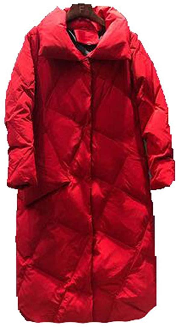 SHDNSWEATER Winter Warm Women Jacket Coat Slim White Duck Down Jacket Long Down Parka Female Down Coat Outwear