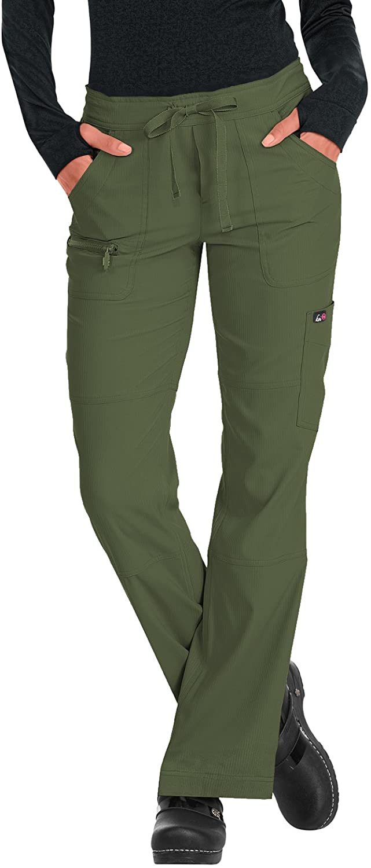 KOI Lite 721 Women's Peace Scrub Pant Olive Green XL