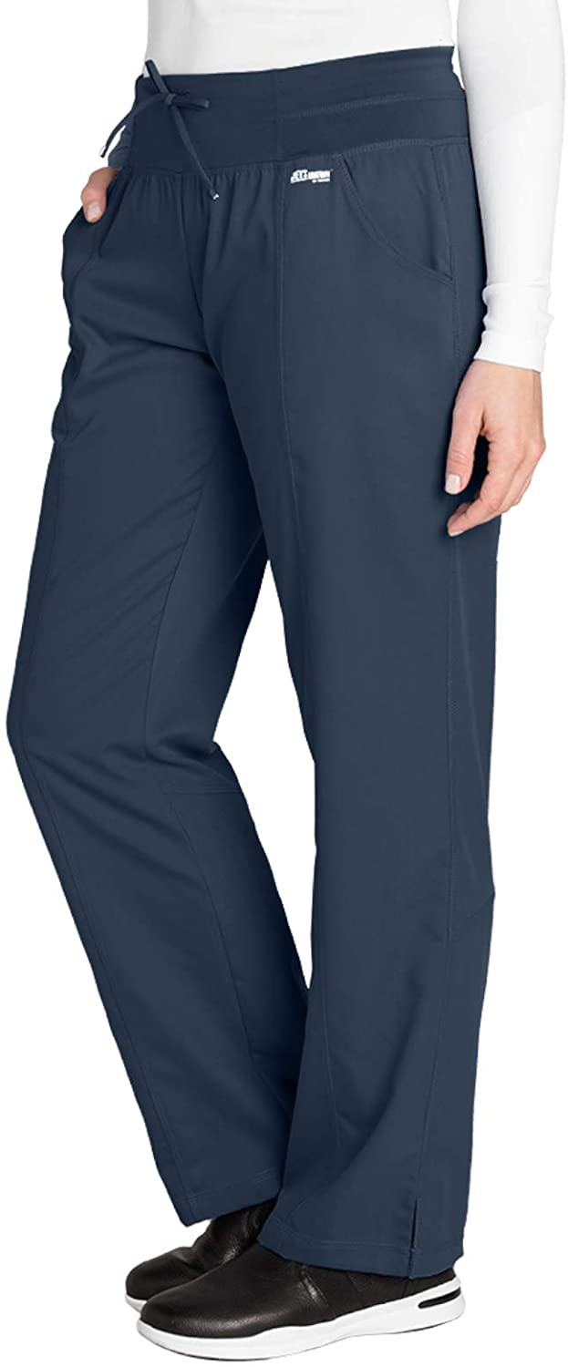 Greys Anatomy Active 4276 Yoga Pant Steel L Tall